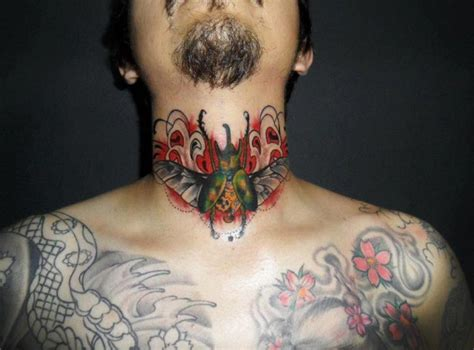 extreme needle tattoo review neck scrabble tattoo by extreme needle