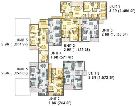 mixed use building floor plans mixed use neighborhood center