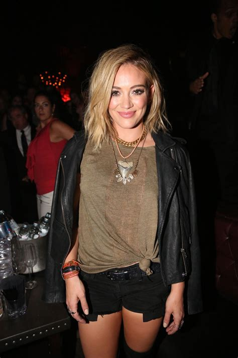 Hilary Duffs Single And Loving It by Hilary Duff At Chasing The Sun Single Release In New