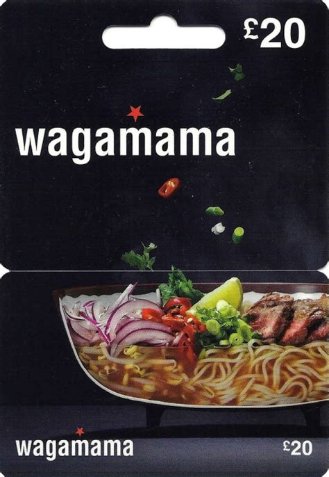 wagamama gift cards voucherline - Wagamama Gift Card