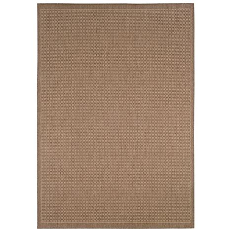 home decorators collection saddlestitch all weather area rug ebay home decorators collection saddlestitch cocoa natural 3 ft