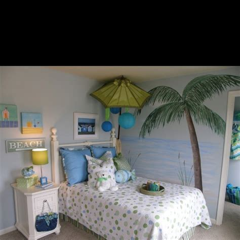 beach themed bedrooms for kids 21 best beach scene on walls images on pinterest