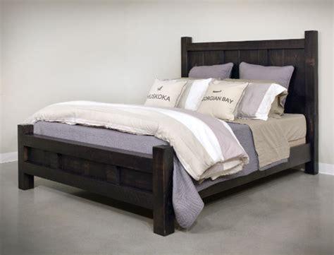 Rustic Bedroom Furniture Canada by Eko Bed Rustic Bedroom Furniture Made In Canada