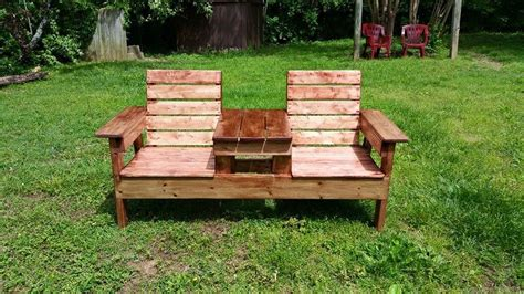 double benching awesome adirondack chair bench dennis double adirondack
