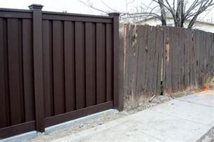 wood alternative fencing trex fencing the composite