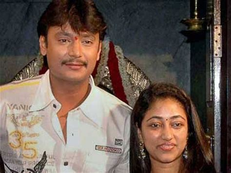 biography of kannada film actor darshan not again split between darshan wife vijayalakshmi
