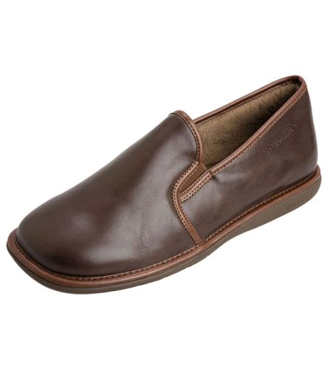 mens leather house shoes noble house shoe by nordika slippers from fife country