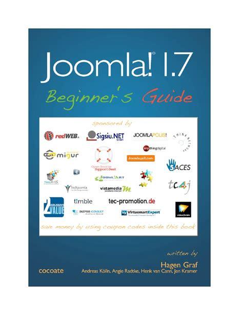joomla tutorial for beginners ppt joomla 1 7 beginners guide