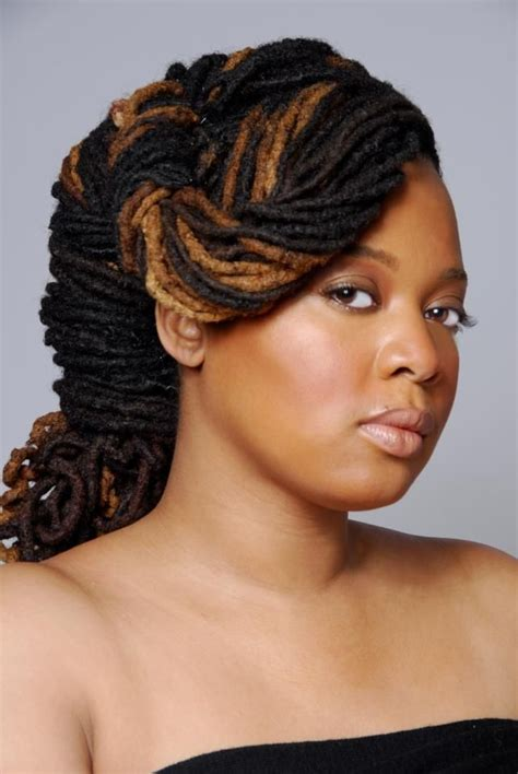 pin up hairstyles natural color 225 best images about lockology dreadlocks locs updo