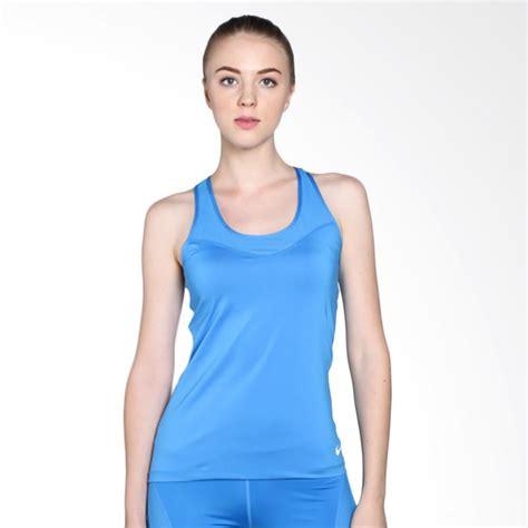 Pakaian Fitnes Wanita Jual Nike As Pro Hypercool Tank 725727 435 Pakaian Fitness