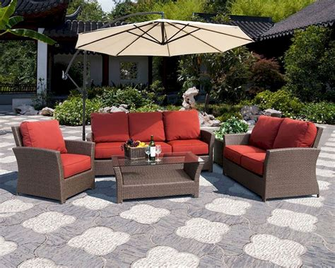 Patio Sofa Set Outdoor Patio Sofa Set Rattan Furniture Sectional Patio Furniture Sets