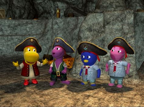 Backyardigans Original Cast Image Pirate C Cast Jpg The Backyardigans Wiki