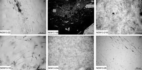 obsidian thin section les affleurements d obsidiennes du nemrut anatolie