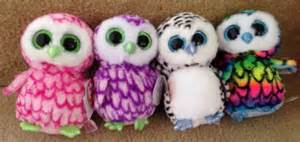 hoot hoot ty beanie boo owl crew aria bubbly lucy pipper