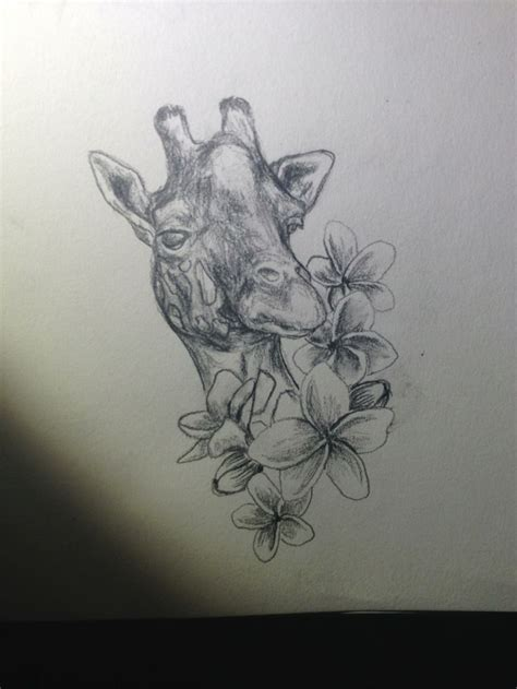 giraffe tattoo design giraffe design