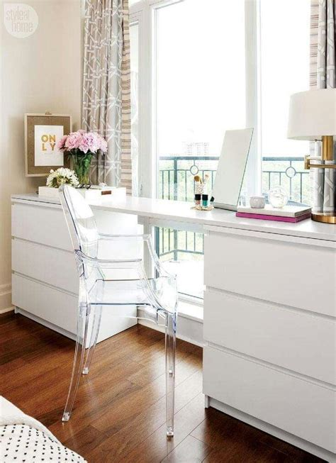 ikea malm desk hack 25 best ideas about ikea office hack on pinterest ikea