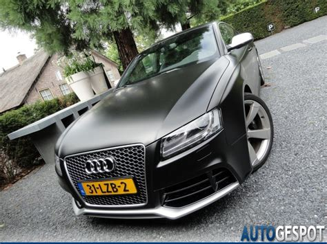 audi a4 matte black fourtitude com audi rs 5 in matte black