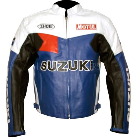 Suzuki Motorcycle Jackets Suzuki Classic Leather Motorcycle Jacket