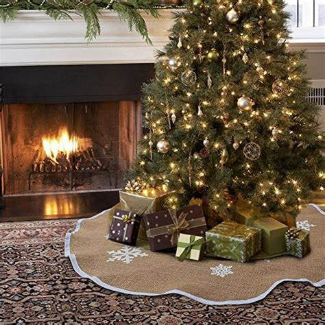 best burlap christmas tree skirts great gift ideas