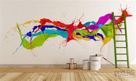 color splash wall mural inspirations pixersize