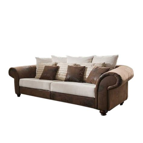 sofa king sofa king george dunkelbraun home24