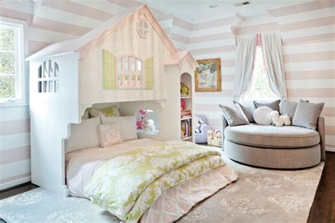 white and pink striped wall contemporary bedroom pink and gray kids bedroom contemporary girl s room