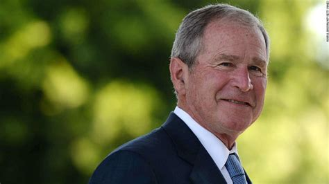 w bush george w bush s favorability has pulled a complete 180
