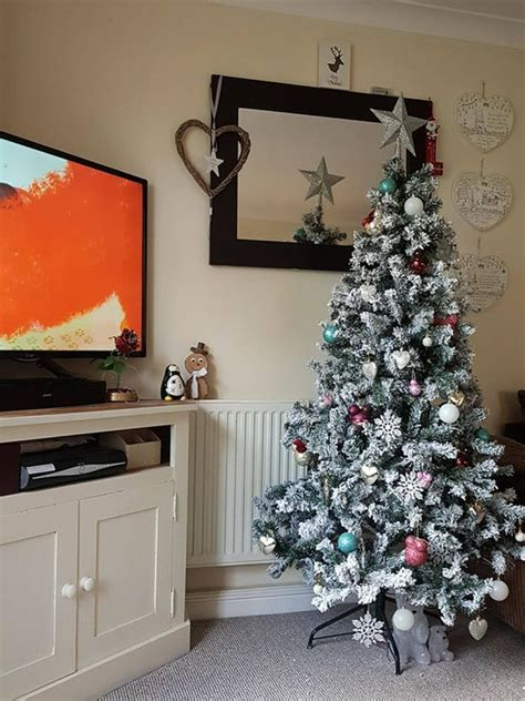 mum quot cries with laughter quot when asda pop up christmas tree