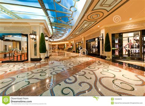 sophisticated luxury displayed by avenue modern luxury shopping mall stock photo image 15349970