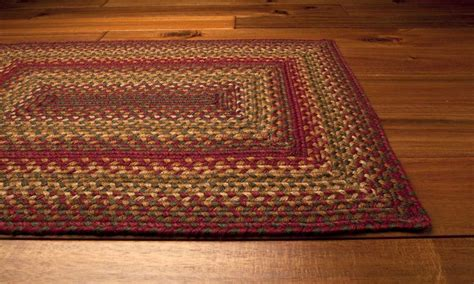 Area Rugs Braided Homespice Decor Jute Braided Rectangular Brown Area Rug Hociderbarn