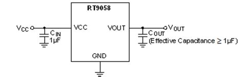 an output capacitorless low dropout regulator with direct voltage spike detection rt9058 36v 2μa iq 100ma low dropout voltage linear regulator richtek technology