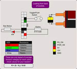 Computer Psu To Bench Supply Atx Power Supply Wiring Diagram Wiring Diagram Schematics