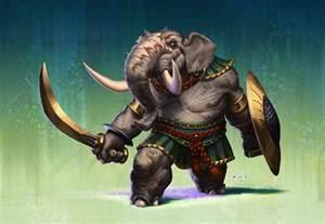 Indian elephant by atarts on deviantart
