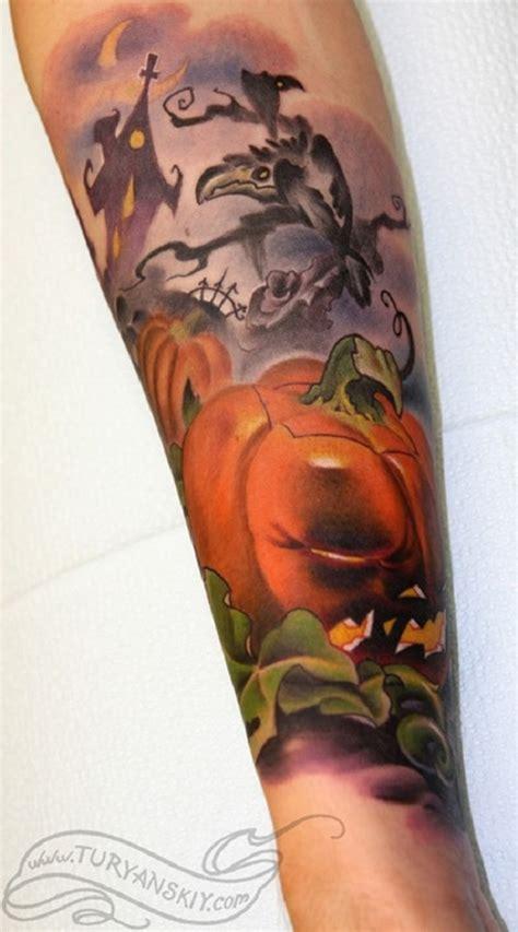 new school pumpkin tattoo 55 halloween tattoo designs nenuno creative