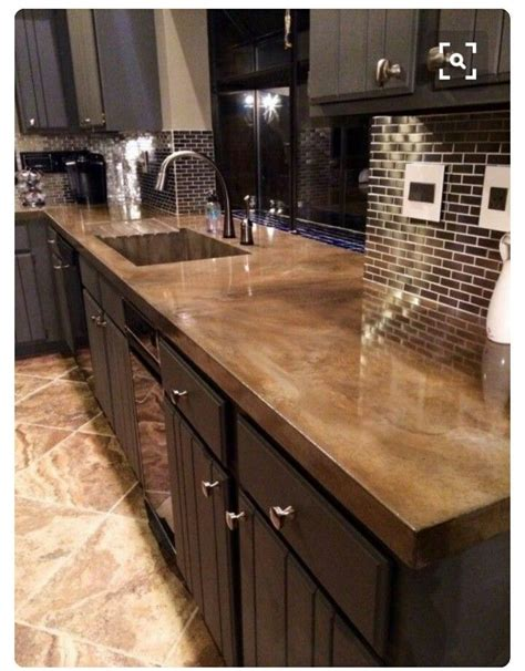 Concrete Countertops Prices Vs Granite by Best 25 Concrete Countertops Cost Ideas On