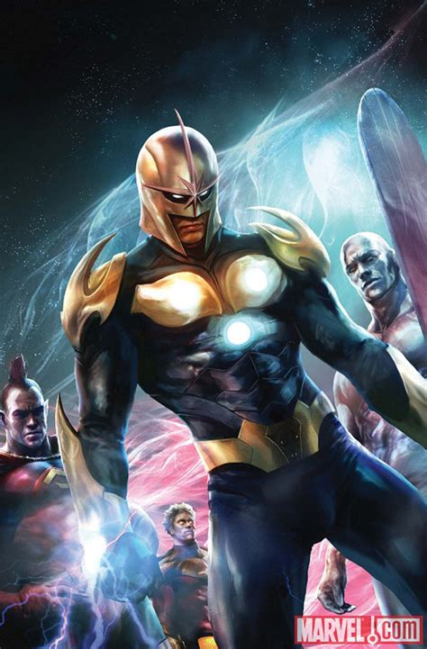 film marvel nova james gunn talks fighting for thanos and prepping for