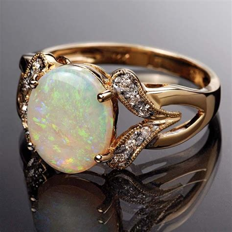 opal ring necklace earrings set 15499 stauer