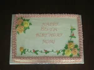Decorated Sheet Cakes by Half Sheet Cake Decorated Sheet Cake