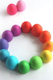 color eggs not martha easter egg food color palette