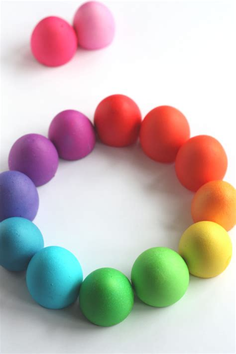 egg colors not martha easter egg dyeing food color palette