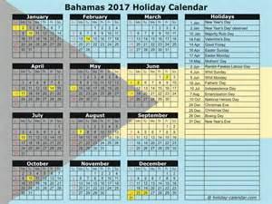 Bahamas Calendã 2018 Bahamas 2017 2018 Calendar