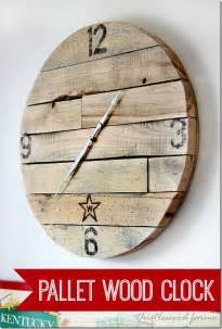 nice How To Make A Homemade Wall Clock #2: how-to-make-a-pallet-wood-clock-diy-project_thumb.jpg