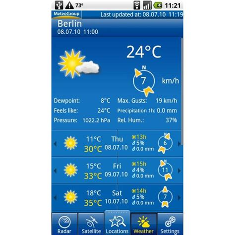 what s the best weather app for android these android weather apps keep you in the or shine