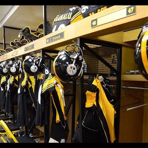 Steelers Locker Room by Locker Room Pittsburgh That Town Steeler Nation