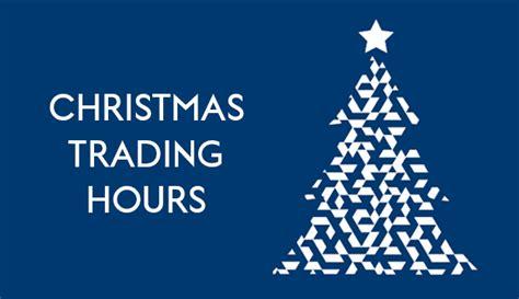 christmas trading hours 2016 haircare australia