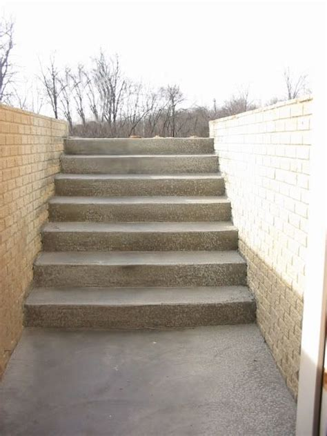 walk up basement 1000 ideas about outside stairs on external