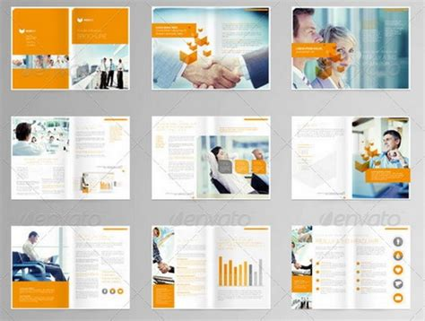 multi page brochure template modern brochure layout search art217 brochure