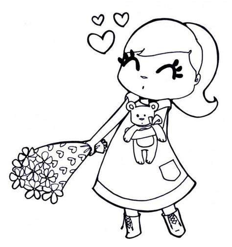 LOVE Coloring pages for Girls Free Printable Coloring