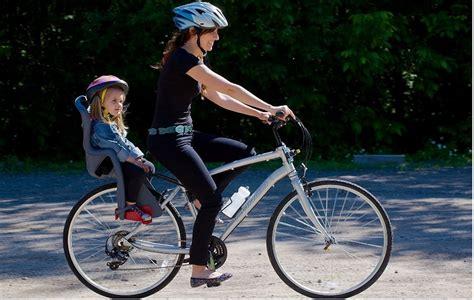 consejos  comprar una silla portabebes  bicicleta