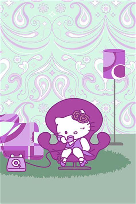 wallpaper hello kitty violet hello kitty purple iphone wallpaper iphone fan site